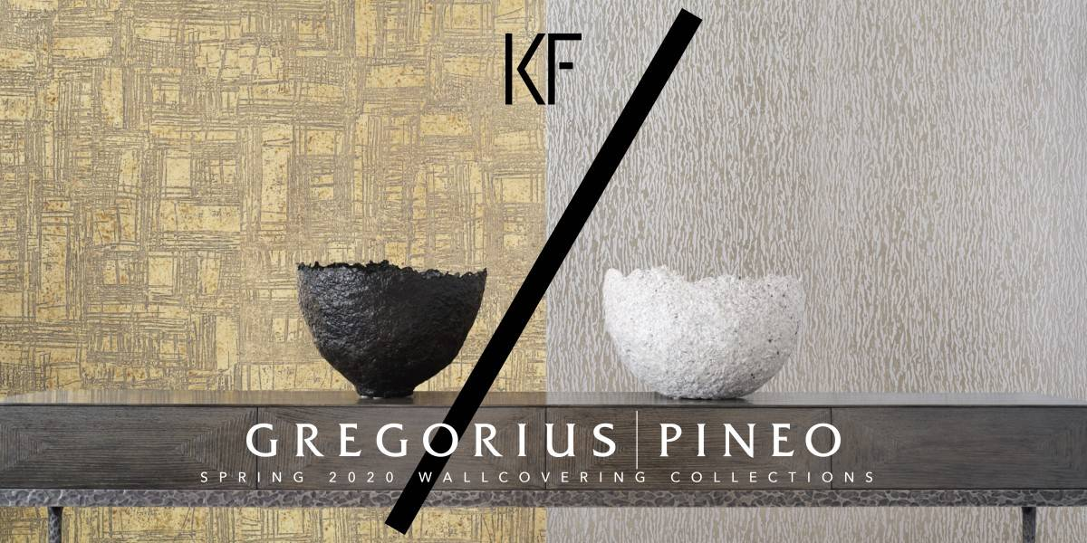 Gregorius Pineo Spring 2020 — Wallcovering Collections
